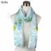 PSY4109 Colored Burn-Out w/solid scarf