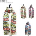 SB104 Navajo print scarf