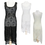P002 Mesh Coverup Dress