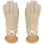 SG411 Knitted Glove, Beige