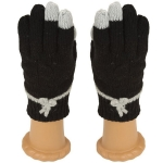 SG411 Knitted Glove, Black