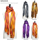 SN304 Multicolored Print Scarf