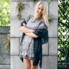 SOY8418 Floral Lace Poncho