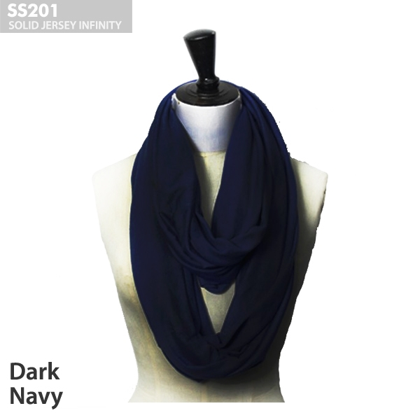 Ss201 Solid Jersey Infinity Wholesale Scarves Ponchos