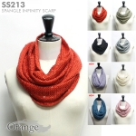 SS213 Spangle Infinity Scarf