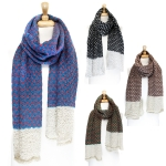 SS2403 Cute Stitch Thin & Long Knit Scarf