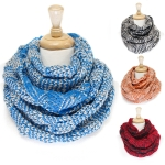SS2411 Triangle Bubble Knited Infinity Infinity