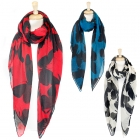 SS2451 Butterfly Print scarf