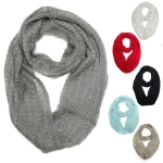 SS2468 Soft Solid Infinity Scarf