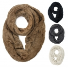 SS2470 Oversize Knit Infinity Scarf