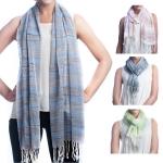 SS2501 Stripe Cotton Scarf