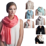 SS2511 Glittery Solid Scarf