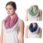 SS2565 Geometry & Solid Infinity Scarf