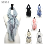 SS328 Sequin Light Weight Scarf