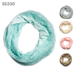 SS330 Mesh Infinity Scarf