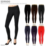 SS9000/KL058 Regular Fleece Seamless Leggings