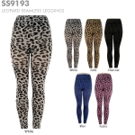 SS9193 Leopard Seamless Leggings