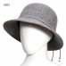 CH6414 Wool Cloche Bucket Winter Hat