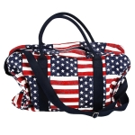 YCB064 American Flag Travel Bag