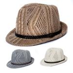 YCH063 Fedoras Straw Hat