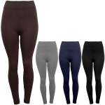 774015 Solid Fleece Leggings