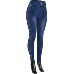 AO1267 Jegging with Stone Line, Love