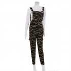 AO1293 Camouflage Pattern Jumpsuit, Olive