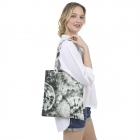 CB1439 Basic Tie-dye Pattern Canvas Bag, Olive