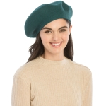 CH8202 Stretchy Knitted Beret, Teal