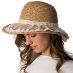 CH8456 Lace Trim Hat