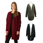 CP7532 Soft Chenille Texture Sweater Cardigan