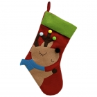 FC-03 Christmas Decoration Big Sock - Cute Reindeer