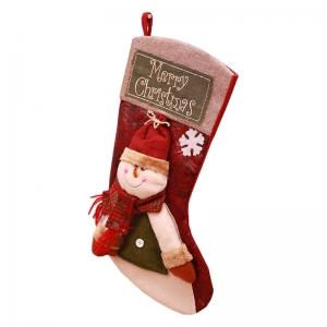 FC-04 Christmas Decoration Pop-up Big Sock - Snowman