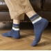 FO012 Solid Color & Stripes Pattern Socks - Dz