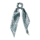 FHW074 Stylish Paisley Pattern Scrunchies, Blue