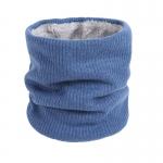 FS018 Solid Color Fleece Neck Gaiter - Blue