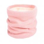 FS018 Solid Color Fleece Neck Gaiter - Pink