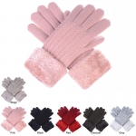 JG715 Chenille Lined Double Layered Gloves (Dozen Pack)
