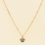 NA-107 Bright Third Eye Charm Necklace, Blue