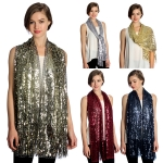 SS2780 Sequin Party Shawl