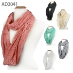 AD2041 Punched Infinity Scarf