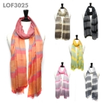 LOF3025 Stripe Scarf