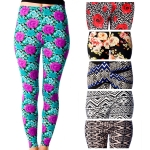 SL3907 Spandex Print Leggings